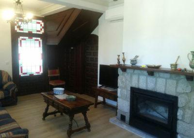 Salon06 Casa Rural El Pinar de las Bastida. Toledo
