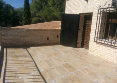 Terrazas_Cigarral El Pinar de las Bastida. Toledo