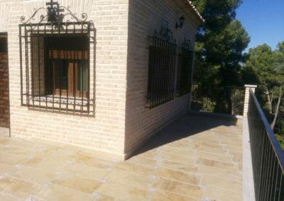 Terrazas_El Cigarral Pinar de las bastida. Toledo