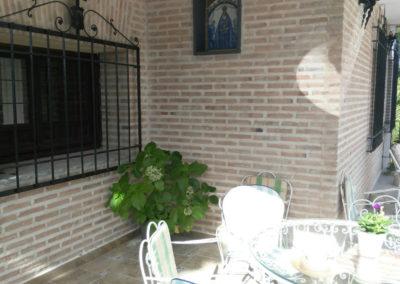 Terrazas Cigarral el Pinar de las bastida en Toledo